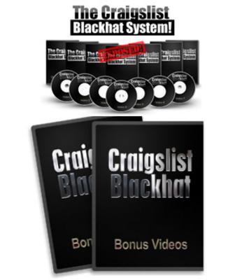 Product picture Craiglist Blackhat System (MRR)