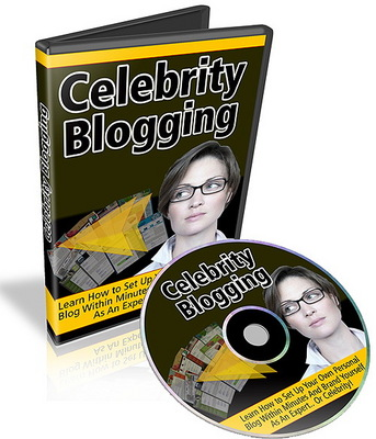 Product picture Celebrity Blogging Video Tutorials (MRR)